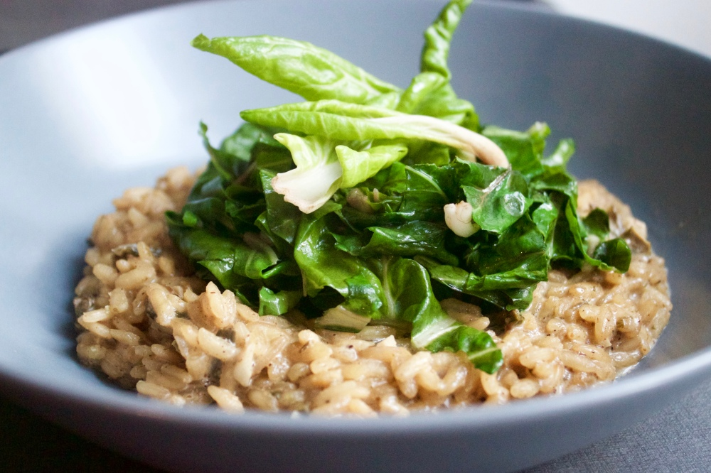 Risotto de bettes *